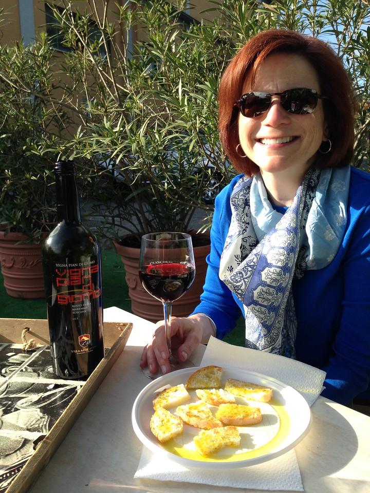 ? Il Borgo di Arturo?<br /> <br /> ...followig night...first communion dinner crashers at...Trattoria Gasperini!