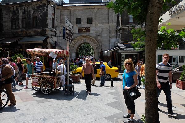 Outside the Grand Bazaar