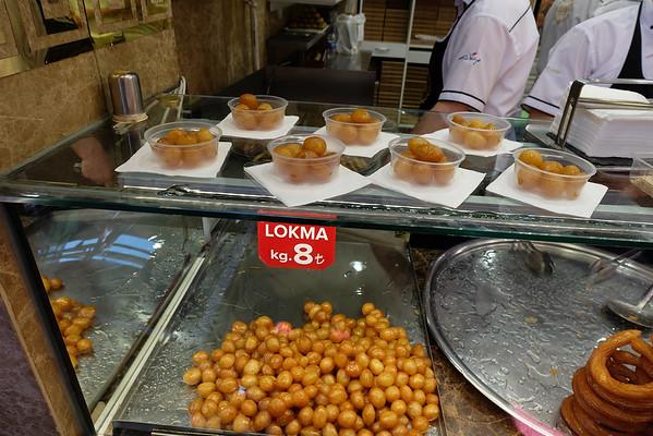 Loukomades in Istanbul