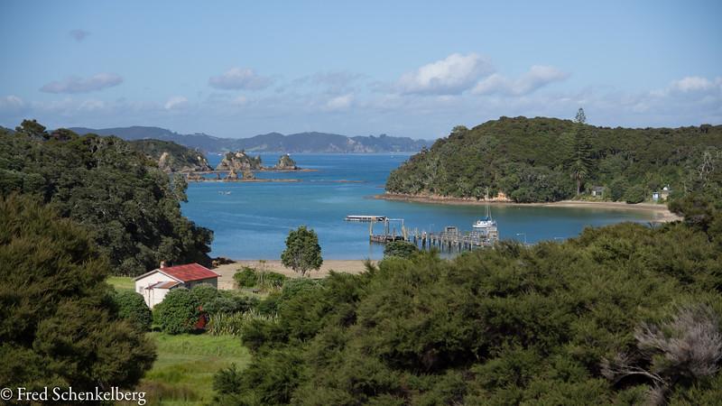 View of Otehei Bay, Urupukapuka Island