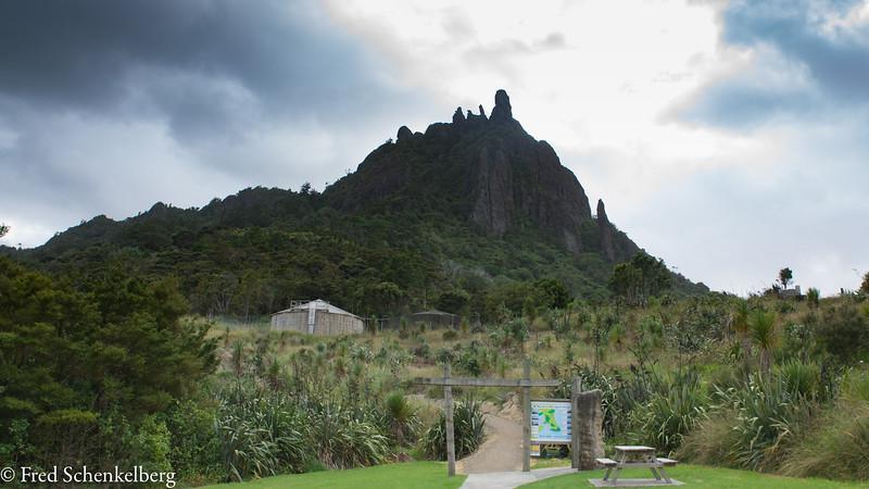 Start of Mount Manaia track