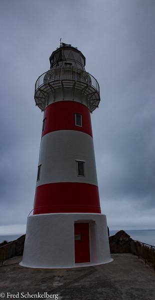 Cape Palliser Lighthouse (after climbing 250 steps)