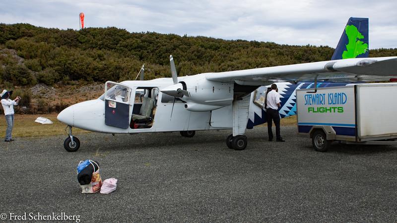 Landing strip on Stewart Island