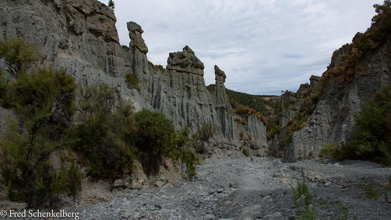 Putangirua Pinnacles Valley