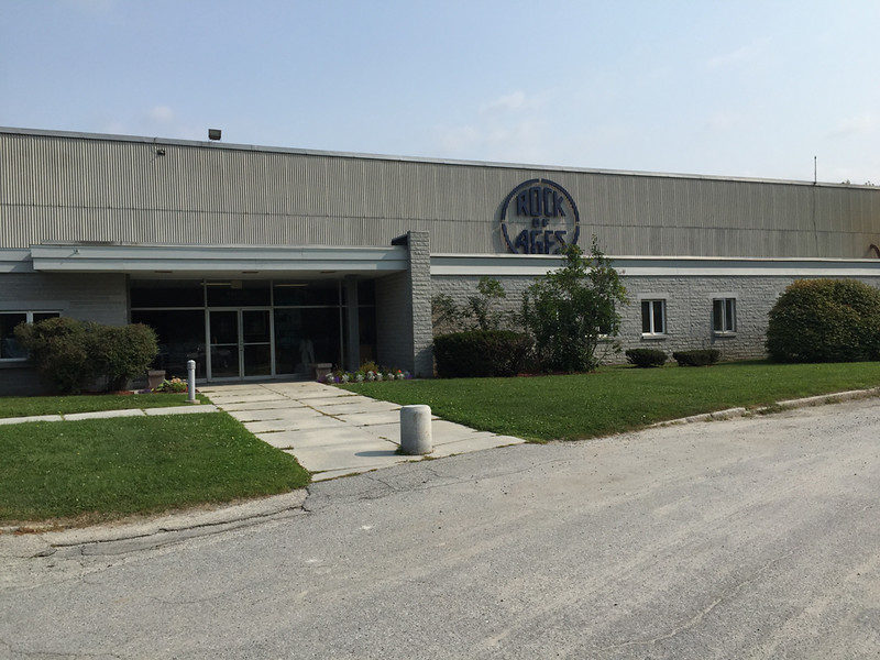 Rock of Ages processing facility, Barre, Vermont, August 31, 2015.