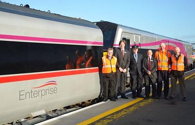 ''Enterprise'' (Refurbished) Launch. Monday 16th November 2015