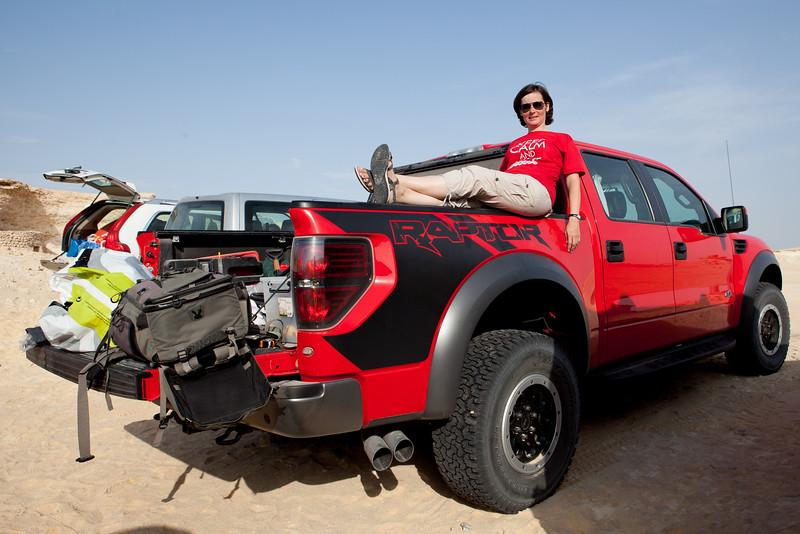 Ford Raptor zavazadlový prostor