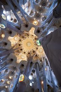 2015 Barcelona - La Sagrada Familia - Interior 5