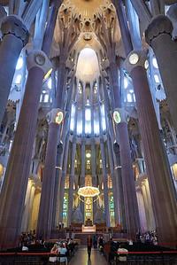 2015 Barcelona - La Sagrada Familia - Interior 6