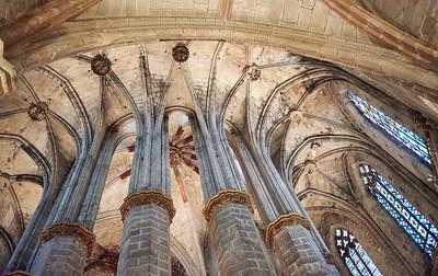 2015 Barcelona - Basilica Santa Maria del Mar - Interior 4