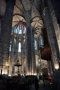 2015 Barcelona - Basilica Santa Maria del Mar - Interior 2