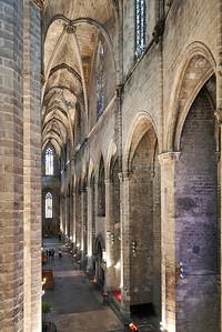 2015 Barcelona - Basilica Santa Maria del Mar - Interior 5
