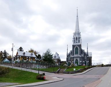 Sacre-coeur church in Chicoutimi
