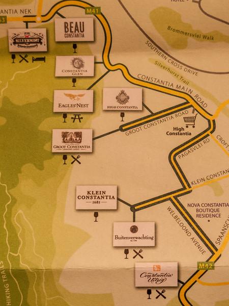 Constantia map