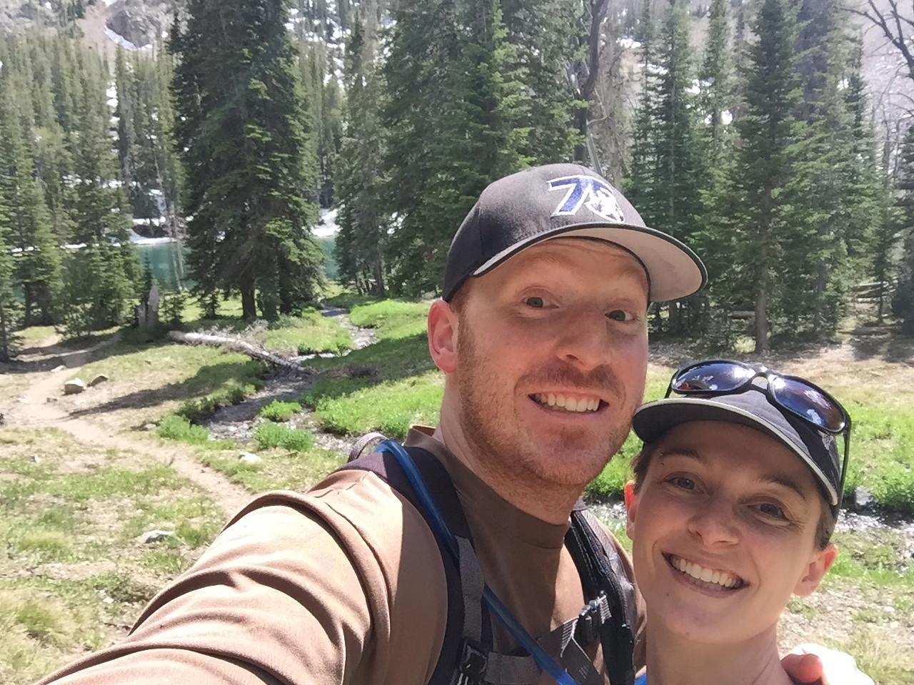 Norton Lakes hike selfie