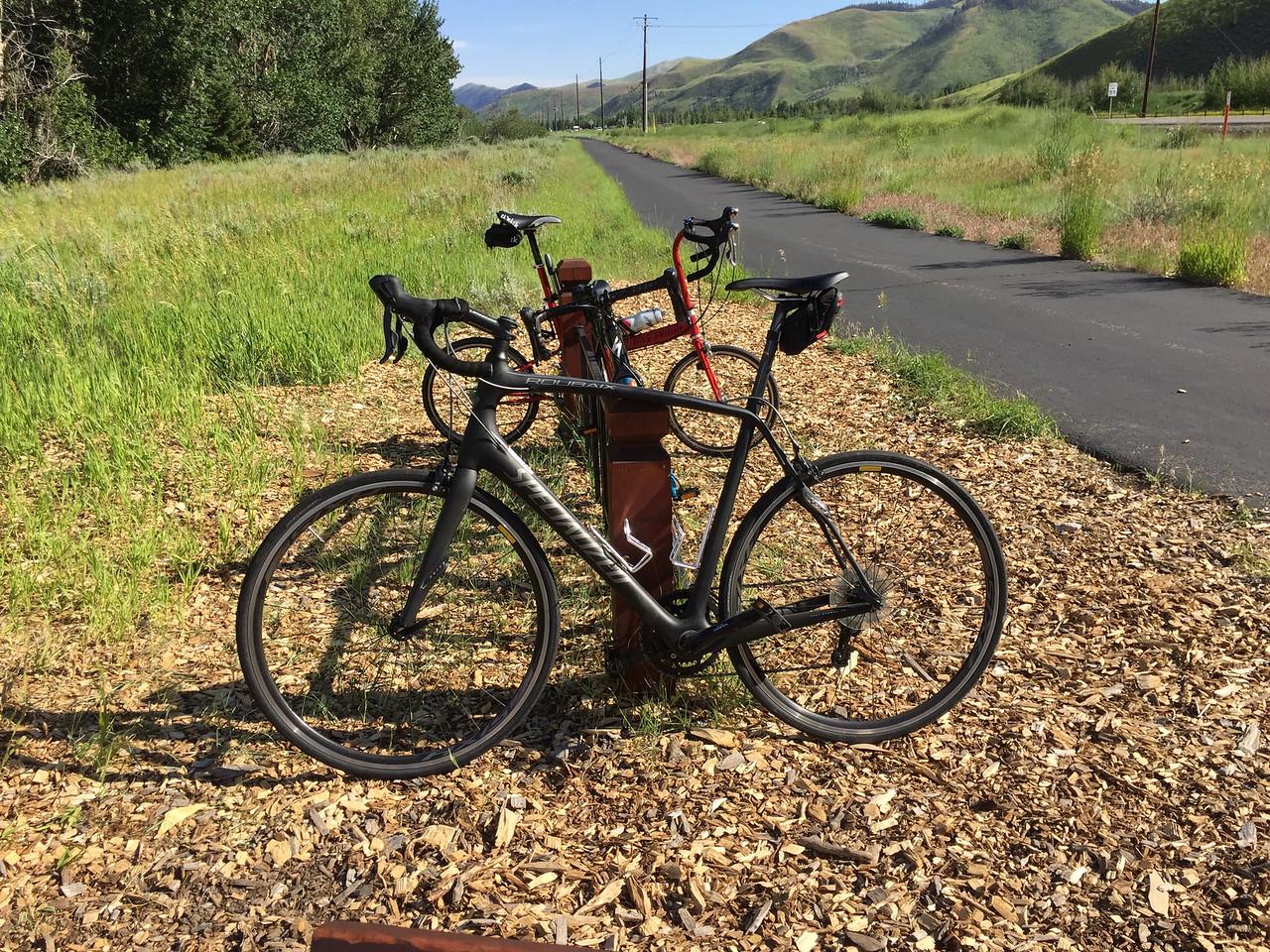 Niel's Specialized Roubaix rental bike!