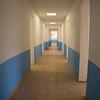 Natural light fills the central hallway