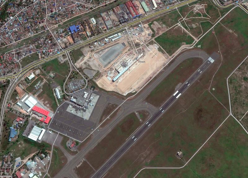 The Dar es Salaam airport