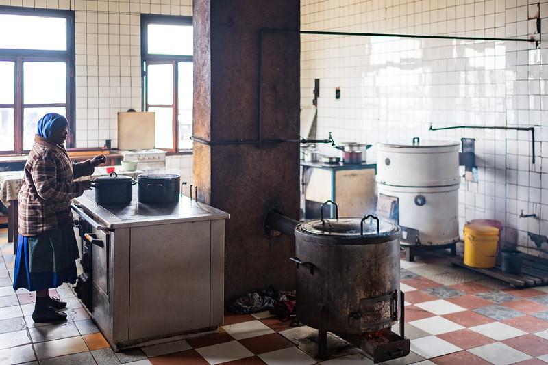 Monastery main kitchen