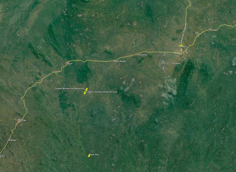 Songea-Chipole-dam area