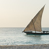 Dhow - Zanzibar at Sunset