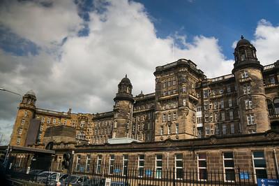 Around Glasgow Glasgow Royal Infrimary