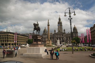 Around Glasgow - George Square