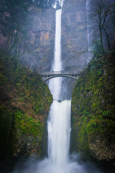 Multnomah Falls top 2 bottom