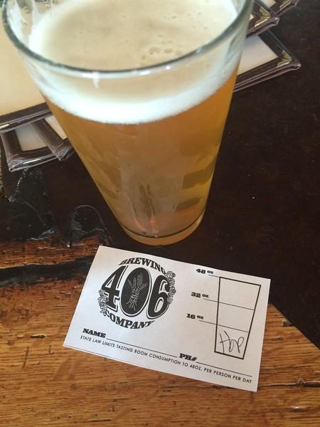 Weird liquor sales laws in Montana. Great beer!