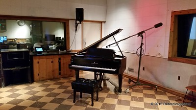 Piano Elvis played when recording at the studio