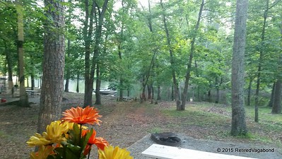 Morning Coffee View - (from inside the Coach) Crystal Springs Arkansas