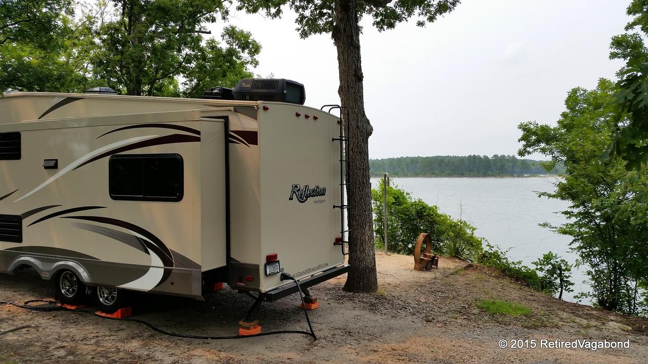 Wonderful View - Modoc Campground South Carolina Site #7
