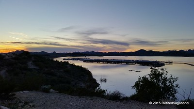 Sunset Lake Pleasant