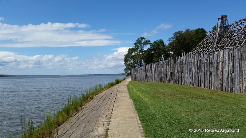 James River - Jamestown - The Landing 1607