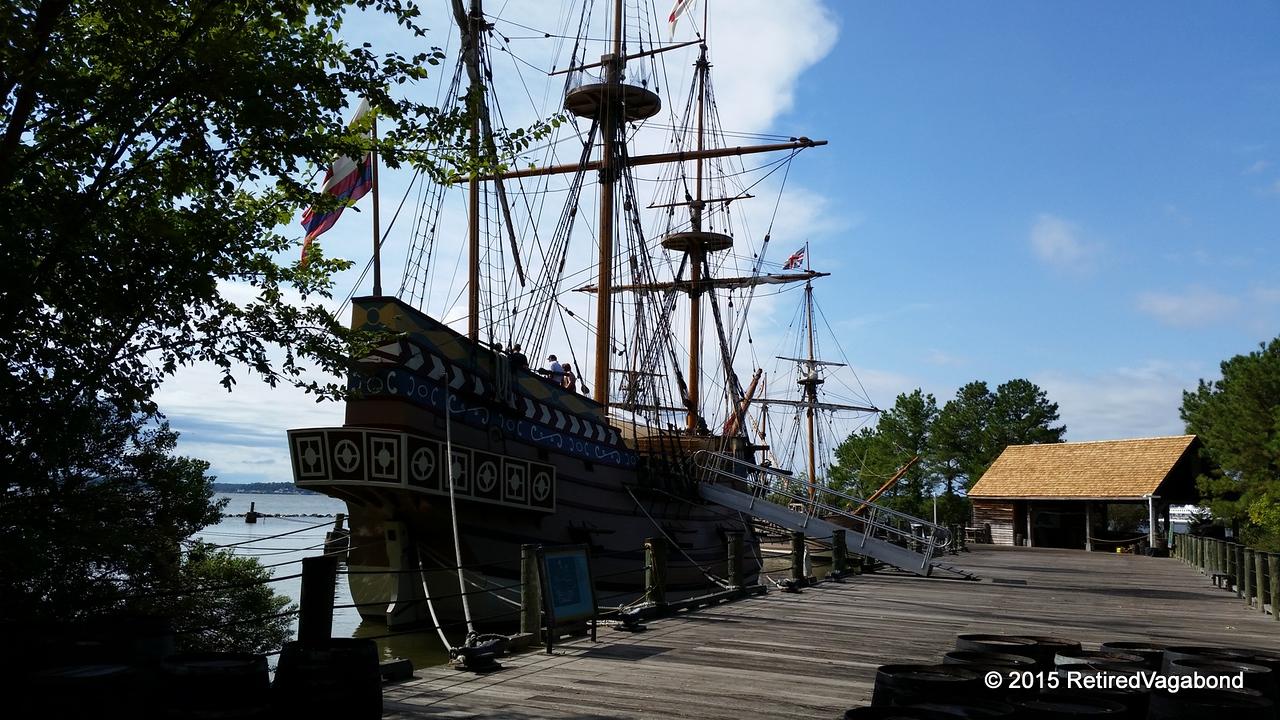Susan Constant 1607 - Jamestown