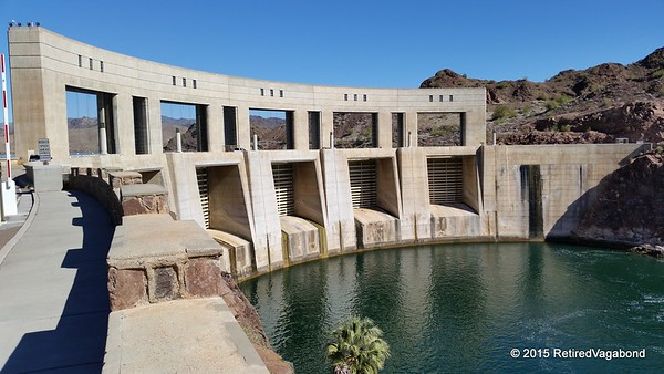 Parker Dam Arizona-California