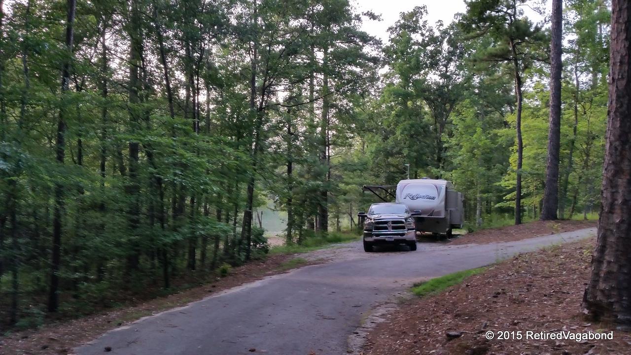 Very Large Campsites - Petersburg Campground, Georgia
