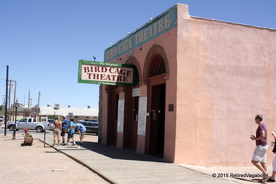 Yes this is the Original - Birdcage Theatre Tombstone, Az