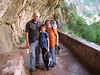 Bob, Nolan, Jeanette at Weeping Rock