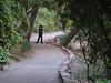 Nolan on trail