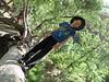 Nolan on log near Weeping Rock
