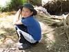 Nolan by creek near Weeping Rock