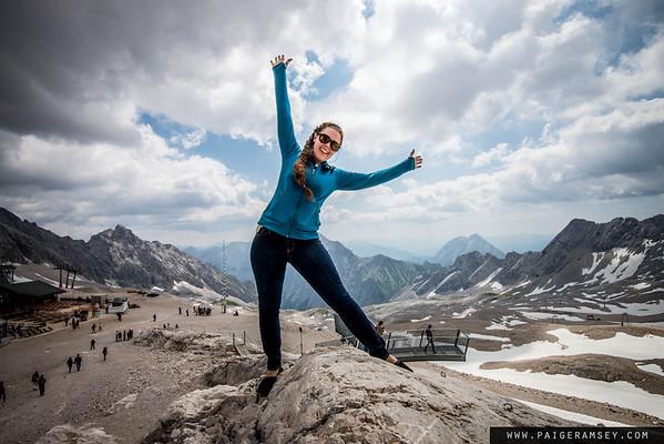 2015 Zugspitze, Gainau, Germany #10moredaysthrueuroupe