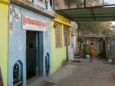 Temple along the trail to Nandi Hills, outside Bangalore.