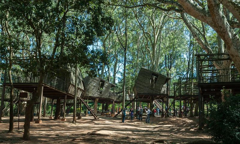 Children's playground, Nandi Hills, outside Bangalore.