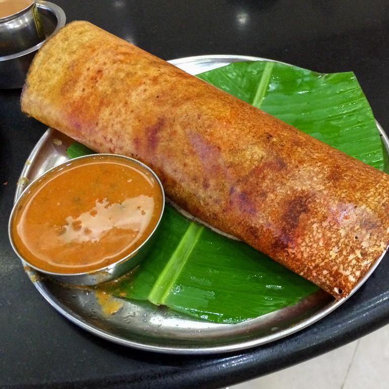 Masala Dosa at New Shanti Sagar, Sampige Rd, Bangalore
