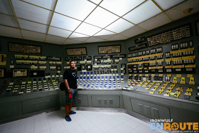 The control room at BNPP