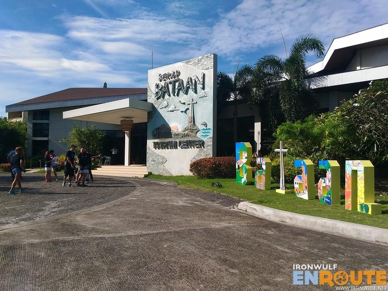 A good looking tourist center in Bataan