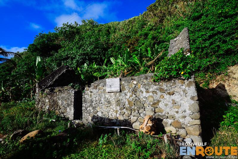 Ruins of Atanacio Dapilan's house