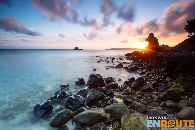 Duvek Bay one of the best places to watch the sunset in Sabtang Island